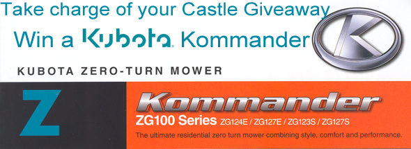 win a kubota riding mower