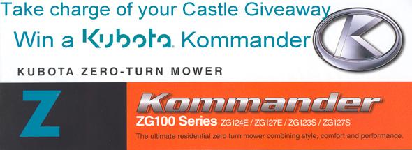 win a kubota riding mower