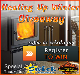 Win the Heating Up Winter Giveaway from Swick Home Services