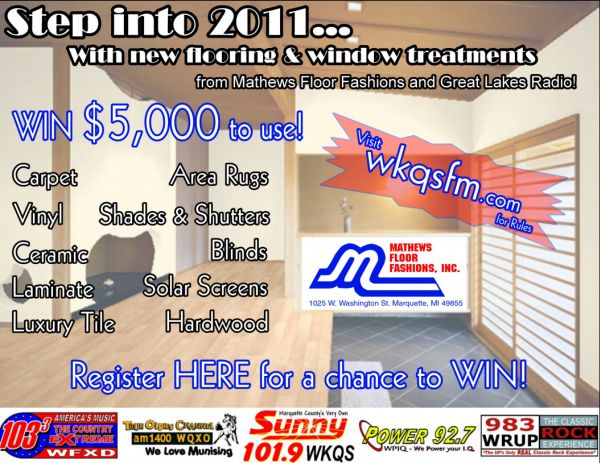 Step Into 2011 - Great Lakes Radio 1st Quarter Promotion
