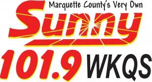 Marquette County Sunny 101.9 102 Radio Logo