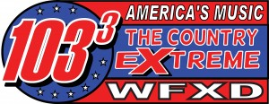 103.3 Marquette Country Radio Station Logo