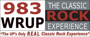 98.3 Classic Rock Ishpeming Radio Station Logo