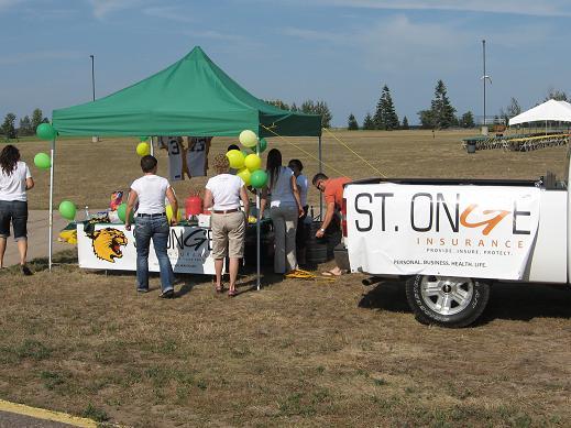 St. Onge Insurance Football Season Opener Tailgate Party