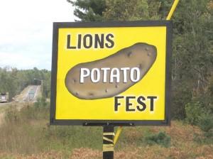 Republic Michigan Lions Club Potato Fest