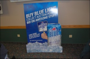 Labatt Blue - Pike Distributing - Official Sponsors of Beer at the Giveaway