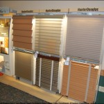 Mathews Floor Fashions HunterDouglas Sample Display of Window Treatments