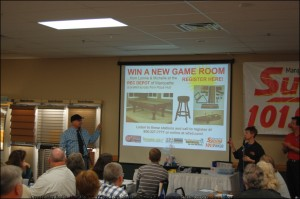 Todd Noordyk Previews Next Giveaway - A GAME ROOM from the Rec Depot of Marquette!