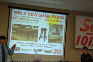 The Next giveaway includes a pool table and more.