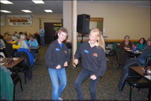 Dawn and Dee Dee Dance a Jig