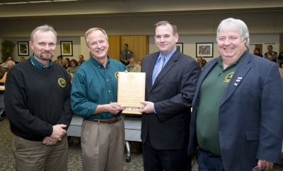 DNR Partners in Conservation Award MDHA