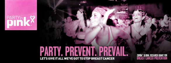 Zumbathon for Breast Cancer October 12th