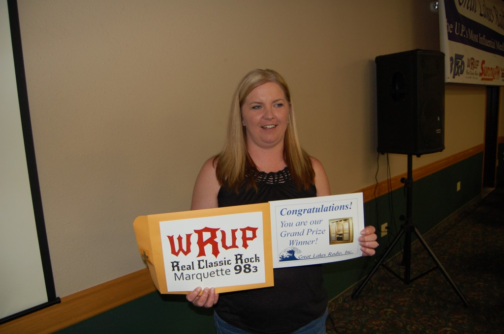 Shelly Russell of Skandia, Michigan Wins Sizzlin' Summer Sauna Giveaway