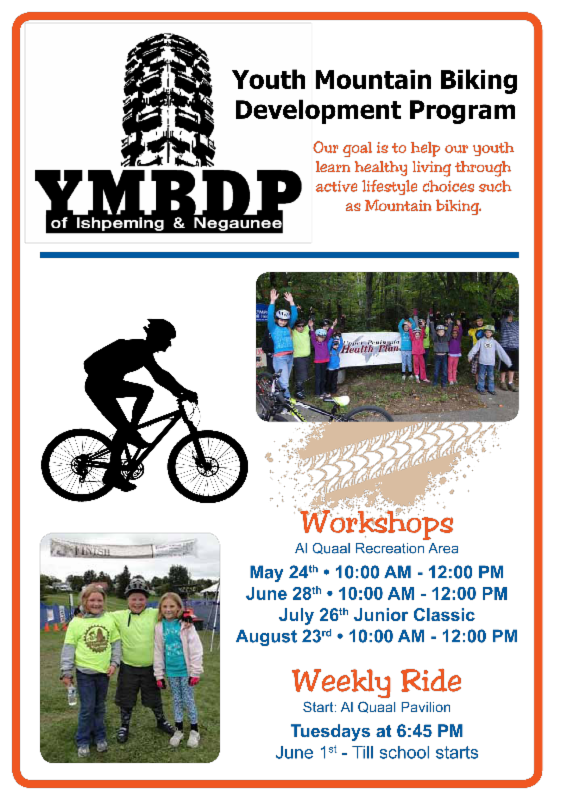 FREE Youth Mountain Bike Clinic Saturday, June 28th