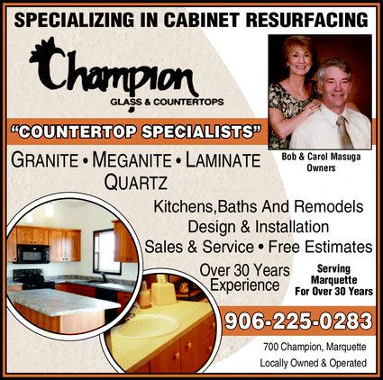 Champion Glass & Countertops - 700 Champion St, Marquette, MI 49855
