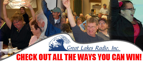 Enter Contests, Win Prizes with Great Lakes Radio!
