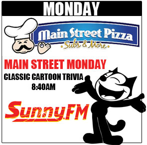 Win Free Pizza with Classic Cartoon Trivia!