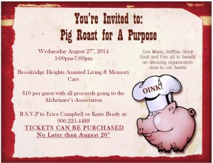Pig Roast for a Purpose