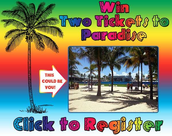Enter to Win Two Tickets to Paradise from Holiday Travel and Great Lakes Radio