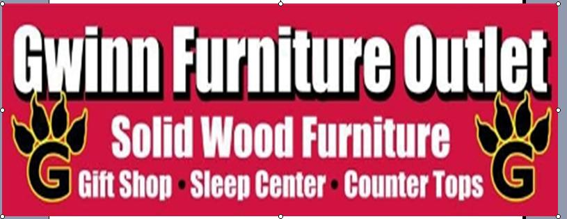 Click to visit Gwinn Furniture Outlet - Solid Wood Furniture, Sleep Center, Gift Shop and Countertops
