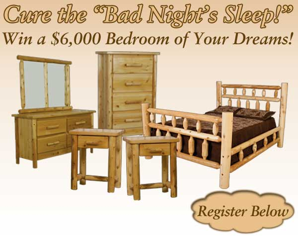 Click here to register for the Dream Bedroom Suite Giveaway!