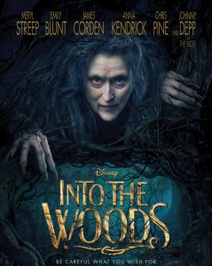 """Peter White Public Library's Matinee Movie """"Into The Woods"""" May 19th"""
