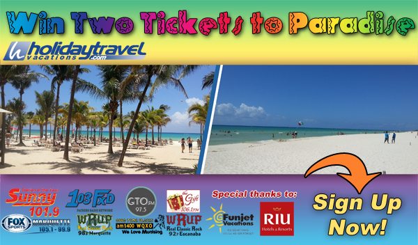Enter to Win Two Tickets to Rio Mexico from Holiday Travel and Great Lakes Radio