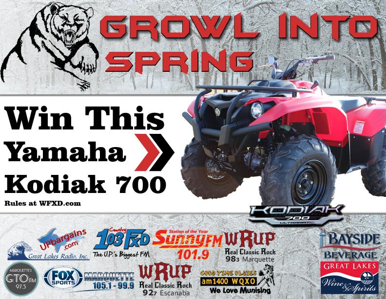 Growl Into Spring with a Yamaha Kodiak 700
