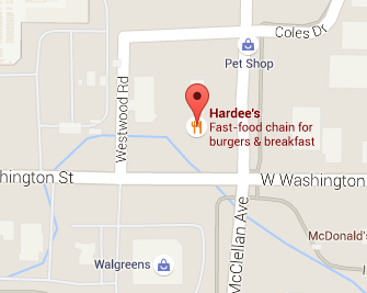 Get directions to Hardee's in Marquette to pick up a thickburger for your lunch
