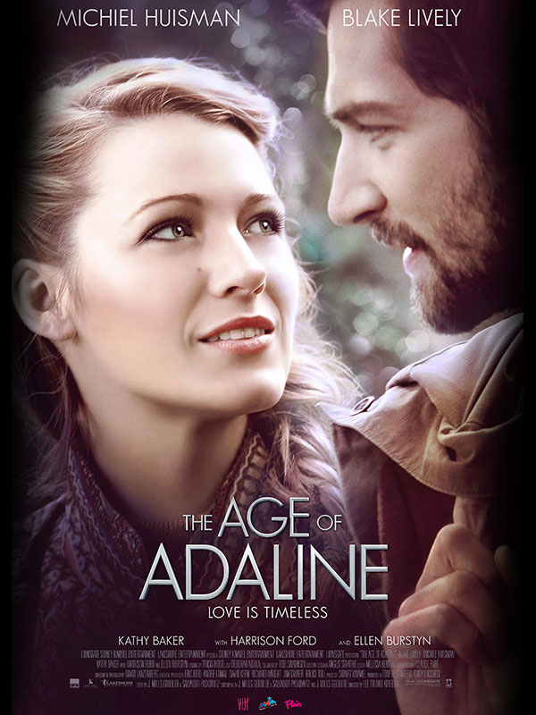 Matinee Movie: The Age of Adaline - PWPL February 4th