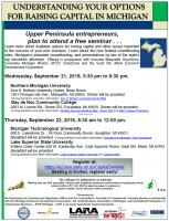 Free Seminars for Entrepreneurs – September 21st and 22nd
