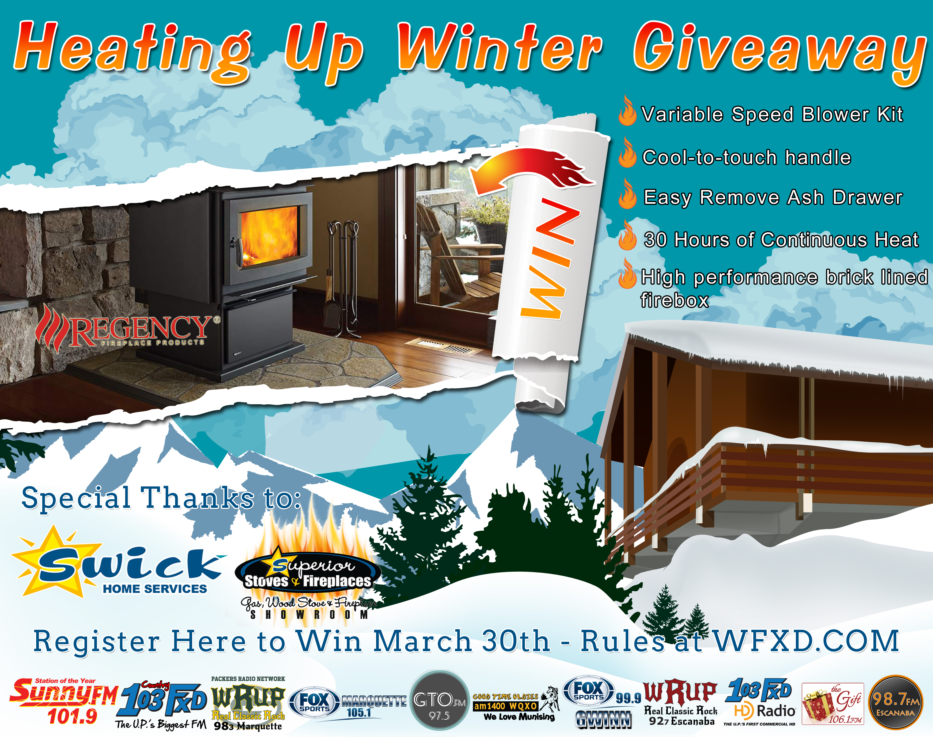 Heating Up Winter Giveaway