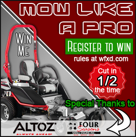 Win the Mow Like a Pro Giveaway from Four Seasons Small Engine
