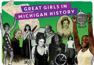 Great Girls Postcard