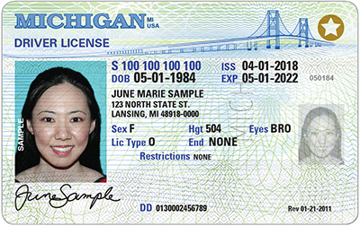 REAL ID-Compliant Driver's License Available in Michigan