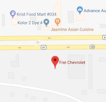 Frei Chevrolet in Marquette