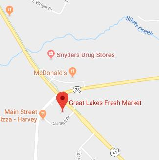 Find Great Lakes Fresh Market of Harvey on Google Maps
