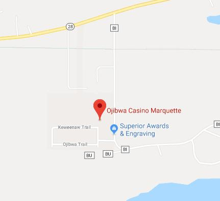 Find Ojibwa Casino of Marquette on Google Maps