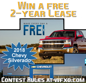 Register to Win a Free 2 Year lease on a Silverado