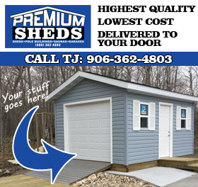 Premium Sheds in Ishpeming, MI