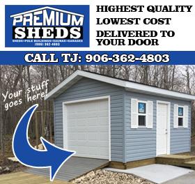 Premium Sheds in Ishpeming, MI