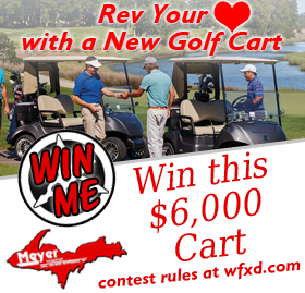 Register to win a new golf cart
