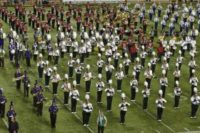 Wildcat Marching Band Hosts 15 High Schools for Band Day