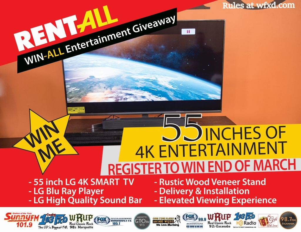 Win a 4K TV System