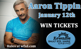 See Aaron Tippin at Island Resort and Casino