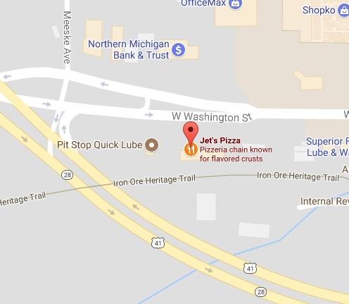 Visit Jet's Pizza in Marquette, MI
