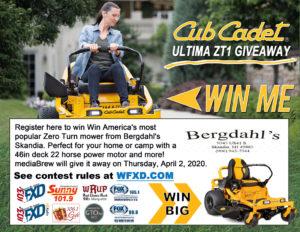 Win the Cub Cadet ULTIMA ZT1 Giveaway