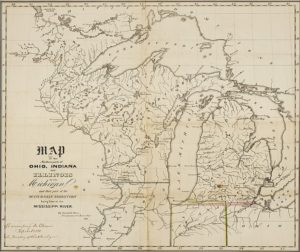 The Upper Peninsula's 183rd Birthday Map