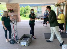 NMU Donates Computers to Norlite June 4, 2020