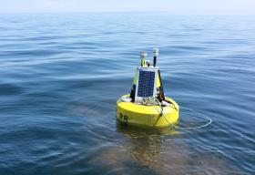 NMU Weather Buoy Deployed on Lake Superior July 4, 2020